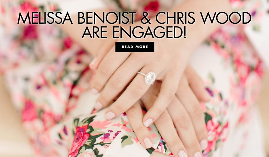 Melissa Benoist and Chris Wood are engaged after being costars on CW Supergirl
