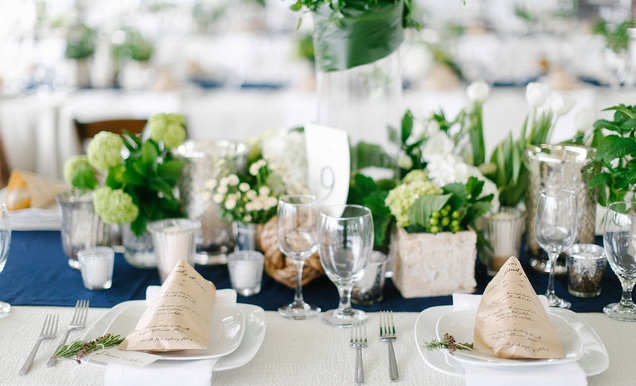 tent wedding with chic nautical theme in san diego inside weddings rh insideweddings com
