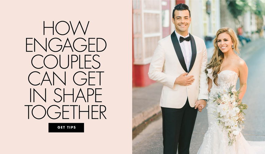 how engaged couples can get in shape together