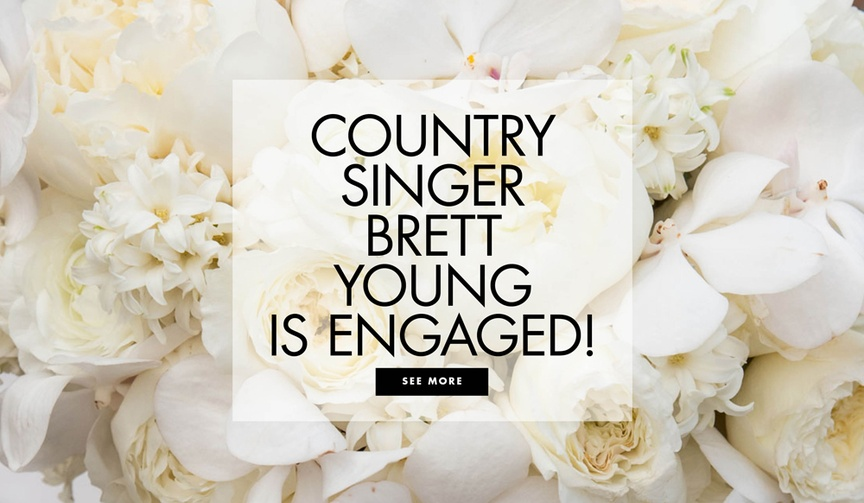 country singer brett young and taylor mills are engaged