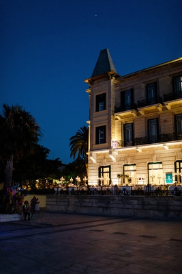 destination wedding at luxury hotel in spetses greece