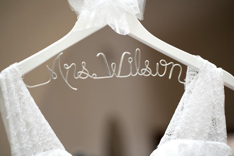 Wedding Dresses Photos - Mrs. Wilson Wire Hanger - Inside Weddings