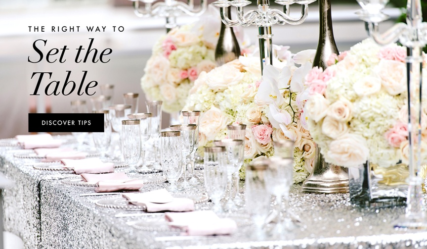 Registry expert Dean Driver shares tips on setting a table for modern times