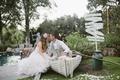 ToneItUp.com's Katrina Hodgson and groom portrait