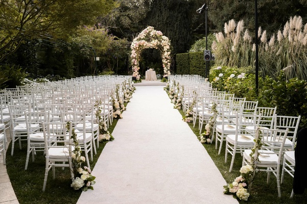 Gorgeous Alfresco Garden Wedding In Bel-Air, California