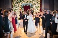 Ashley C Fina wedding recessional with groom