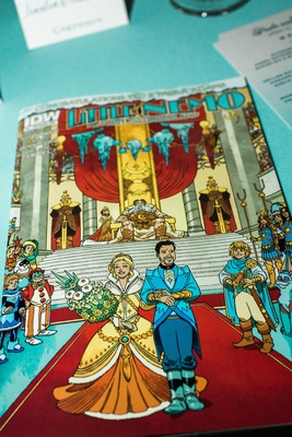 Little Nemo: Return to Slumberland wedding favor with alternate cover by Gabriel Rodriguez, IDW