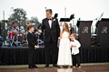 ring bearers and flower girls help with the father of the bride toast