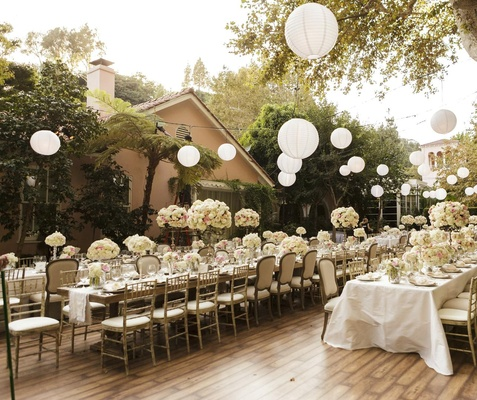 Gorgeous Alfresco Garden Wedding In Bel Air California
