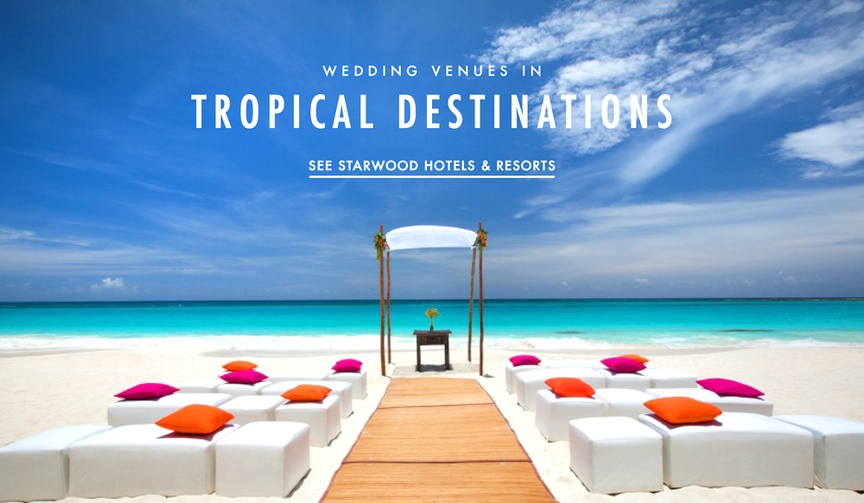 Starwood Hotels & Resorts Caribbean and Mexico locations