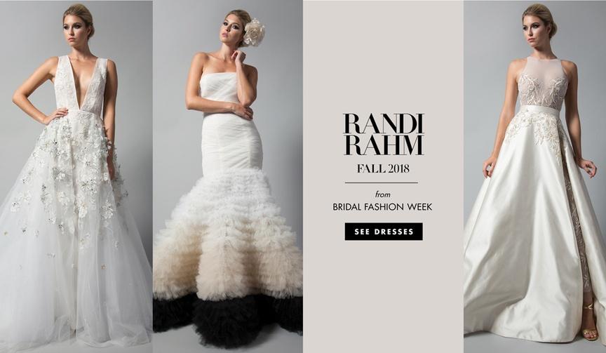 Randi Rahm Fall 2018 wedding dress bridal collection bridal market