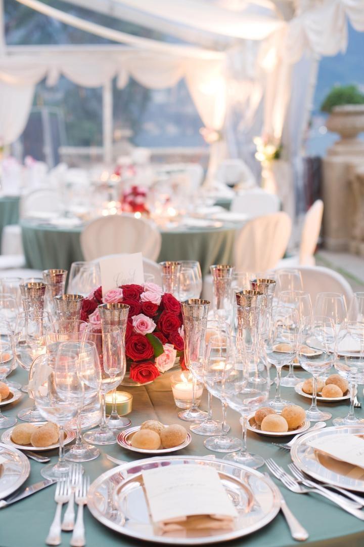 Reception Dcor Photos Silver Wedding Table Accents Inside Weddings