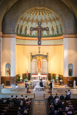 couple marrying roman catholic church st boniface catholic church pittsburgh traditional religious