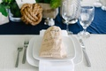 Family dinner menu listed on kraft paper bread bag