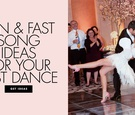 elaborate choreographed first dance for bride and groom, update songs for a fun first dance