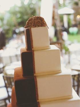 Tiramisu style wedding confection