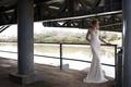Limor Rosen 2017 Blanch wedding dress beaded lace low back Urban Dreams