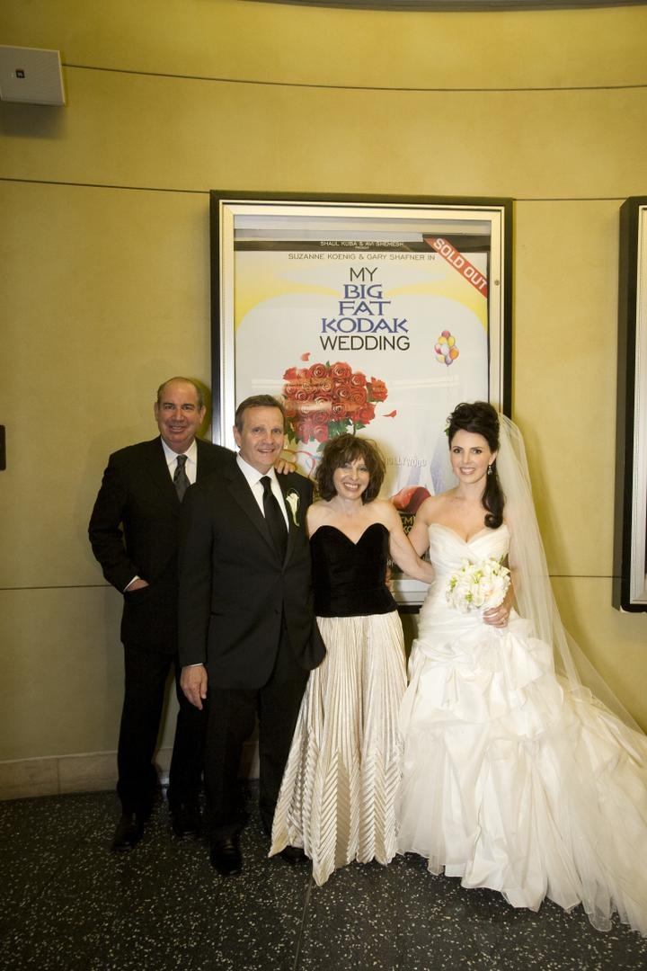 Guests & Family Photos - Movie Poster Wedding Decoration