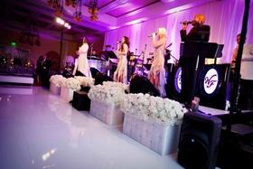 Wayne Foster Entertainment band at wedding reception