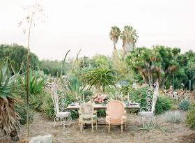 desert wedding inspiration in southern california, desert botanical garden