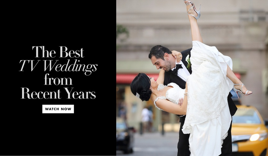 The best television weddings from recent years watch now