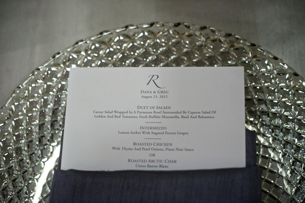 Crystal lattice charger plate with simple menu