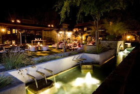 Villagio Inn & Spa in Yountville Napa Valley outdoor Pavilion