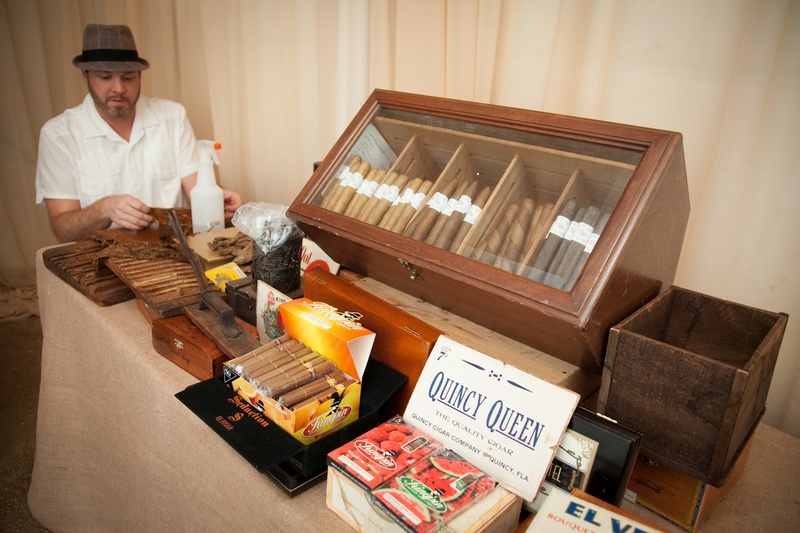 Favors & Gifts Photos - Hand-Rolled Cigar Bar - Inside Weddings
