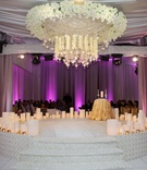 Kandi Burruss wedding ceremony in the round platform