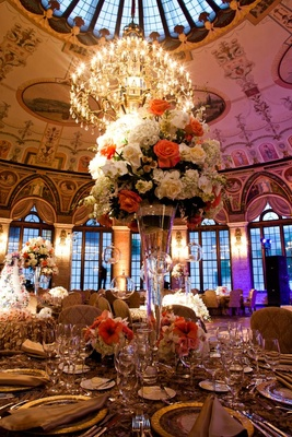 The Breakers Circle Ballroom wedding decorations