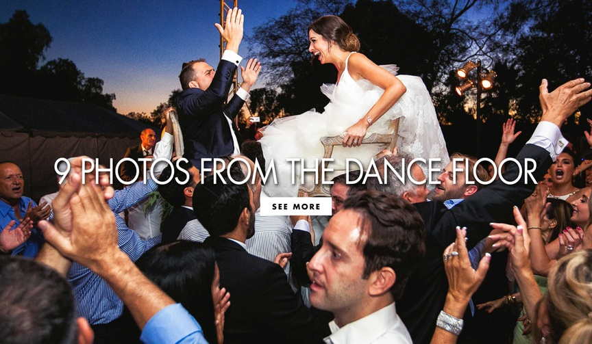 Nine photos from the dance floor to inspire your wedding day photographs party