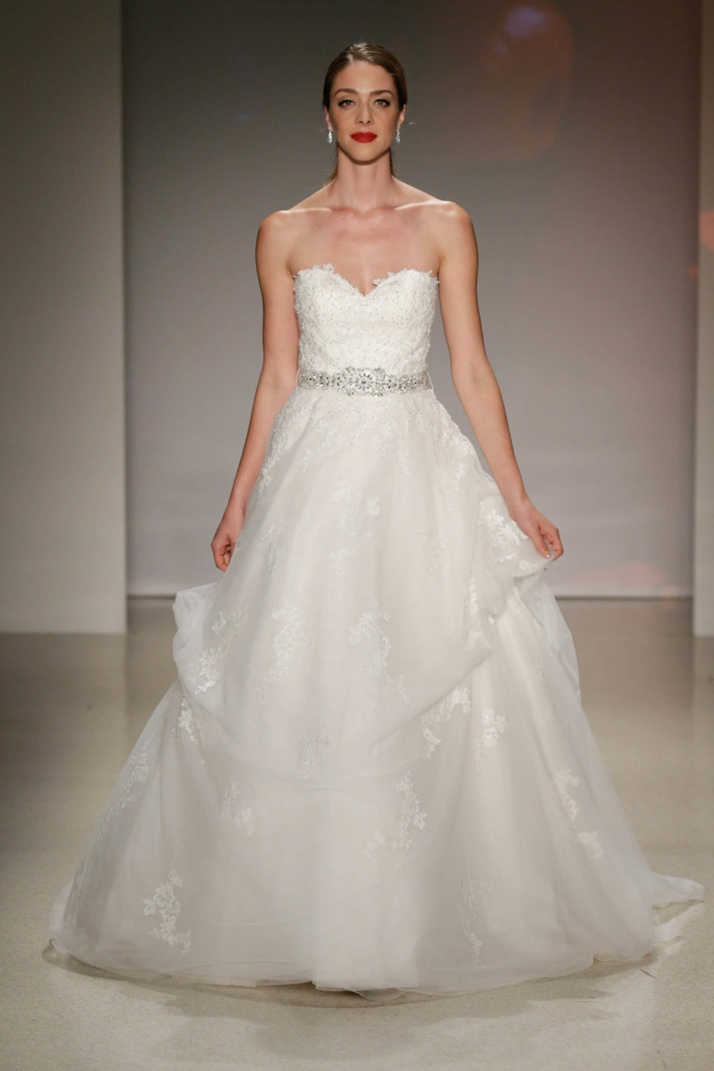 Wedding dresses photos belle by alfred angelo 2017 inside alfred angelo 2017 disney fairy tale weddings bridal belle strapless wedding dress jewel belt lace ombrellifo Images