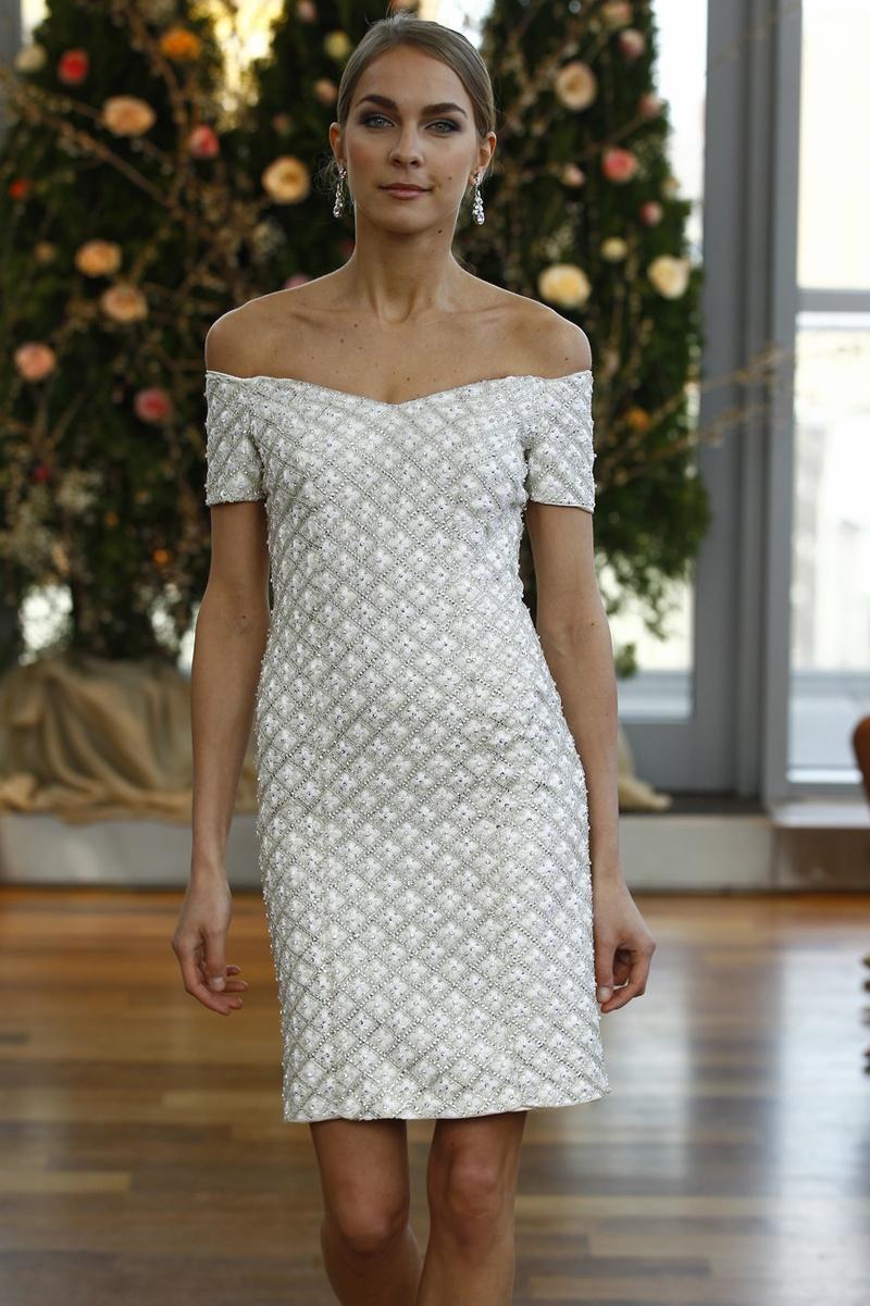 Short Wedding Dresses for a Chic, Casual Bride - Inside Weddings