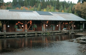 Sundance Resort lodge wedding venue in mountains