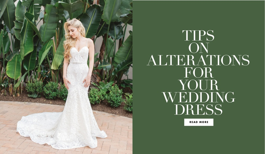 what you need to know for wedding dress alterations