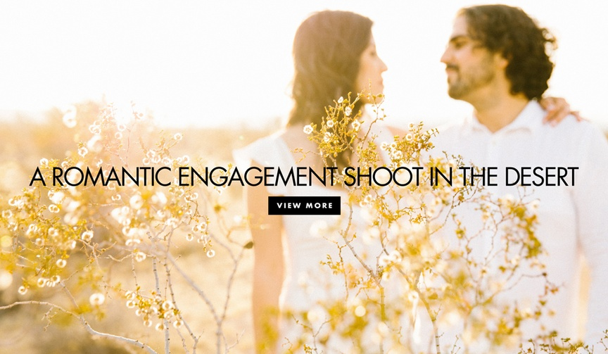 Joshua Tree engagement session photo ideas all white attire in the desert