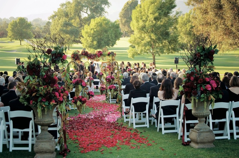 Ojai Valley Inn & Spa outdoor wedding