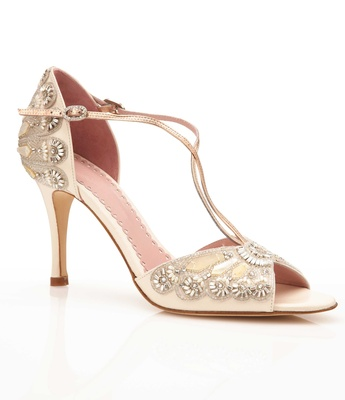 6f530fa8f52 Emmy London Francesca wedding shoe in off white with vintage-inspired beads  and mother of.