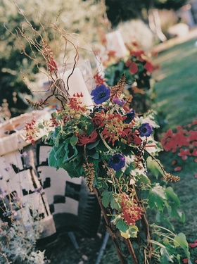 Fall inspired floral arrangements
