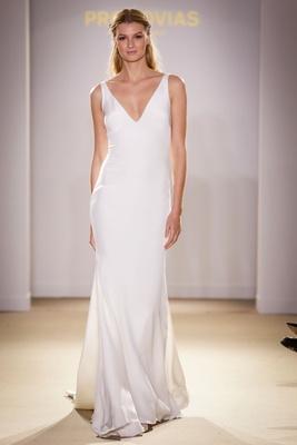 Pronovias Feather Dress