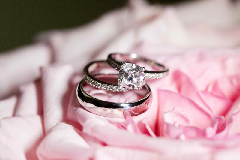 Jewelry Photos Diamond Rings and Polished Band Inside Weddings