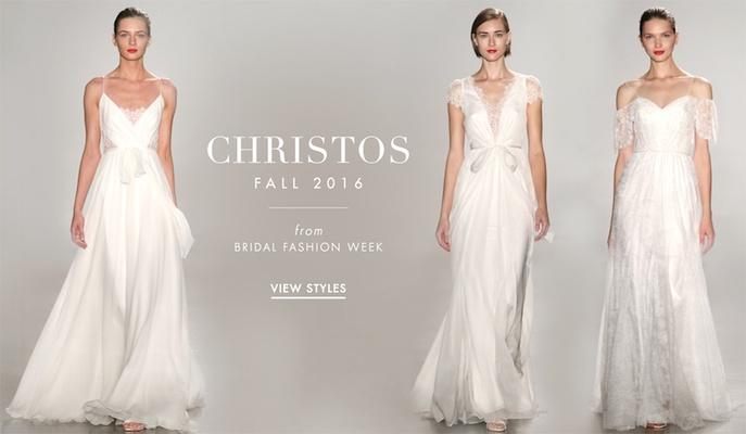 Wedding Dresses: Christos Fall 2016 - Inside Weddings