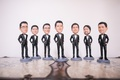 groomsmen gift ideas, groom and groomsmen bobbleheads