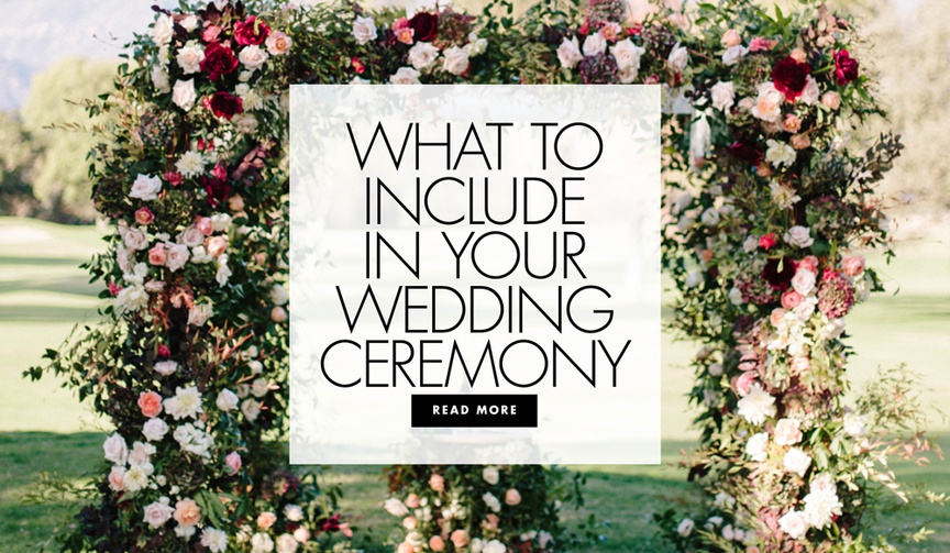 what to include in your secular wedding ceremony to make it last longer