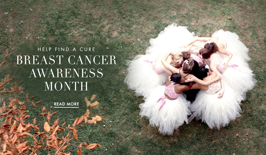 Products for brides to help Breast Cancer Awareness Month