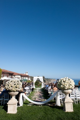 Santa Barbara oceanview ceremony at Bacara Resort