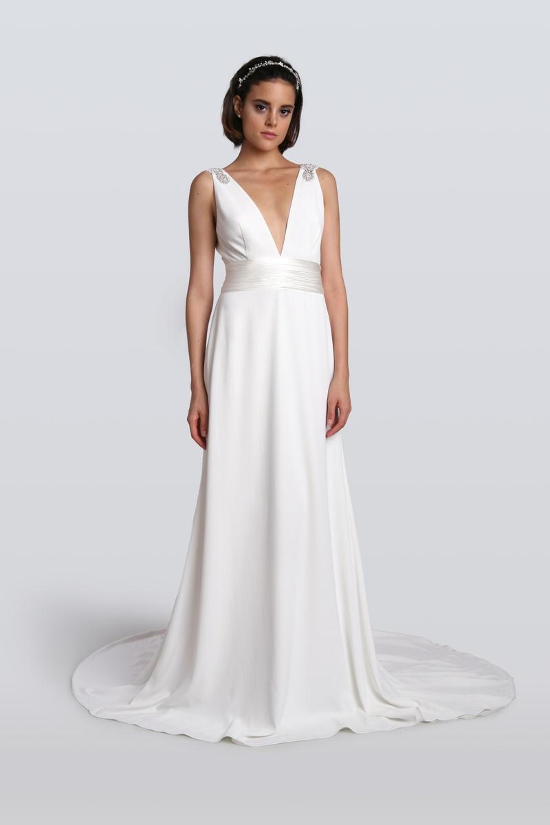 Wedding Dresses Photos - C90042 by Carmen Marc Valvo - Inside Weddings