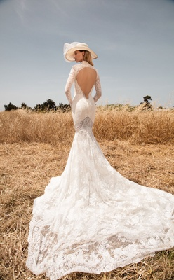 GALA By Galia Lahav Gala Collection No 2 Back Of Lace Wedding Dress Keyhole