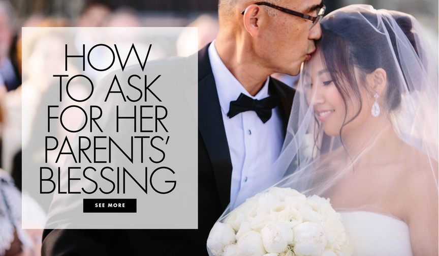 how to ask your girlfriend's dad for his blessing to propose