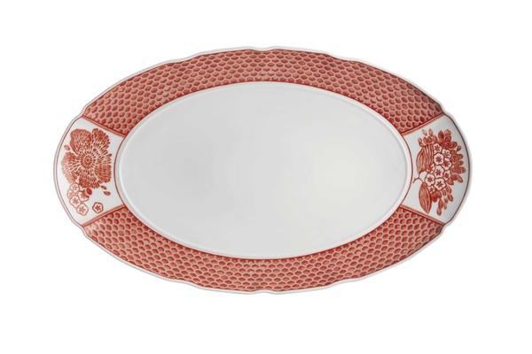 Coralina by Oscar de la Renta for Vista Alegre large oval platter